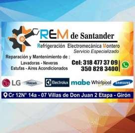 Mantenimiento y reparación de aires acondicionados ( REM de Santander )