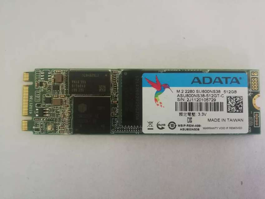 Disco sólido M2 marca Adata 512gb 0