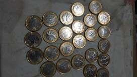 Monedas de 1 real juegos olímpicos 2014