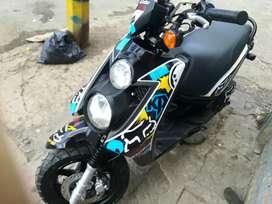 Vendo moto bws en muy buen estado modelo 2013