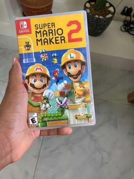 Super Mario Maker 2 Nintendo Switch Usado Negociable
