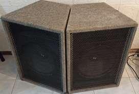 Parlantes Electro voice 15
