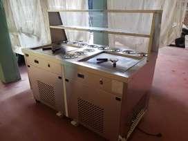 Maquina de helados fritos - a la plancha (Negocio rentable)