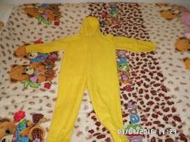 Disfraz de oso unisex talla 4