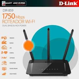 Router Dlink DIR859 AC1750 Doble Banda 3 Antenas
