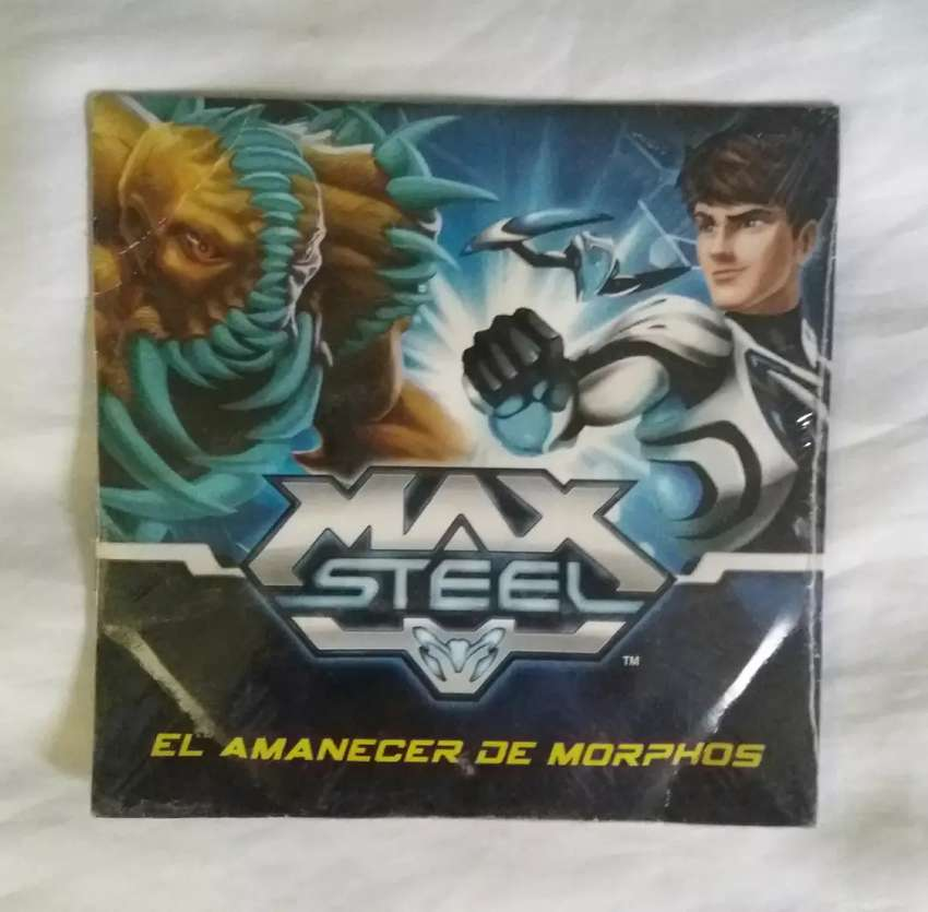 Max steel el amanecer de morphos dvd original sellado 0