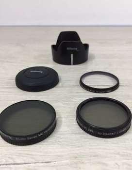 Kit de filtros Ultimaxx para cámara DJI Inspire/ osmo . producto usado, estado  9/10