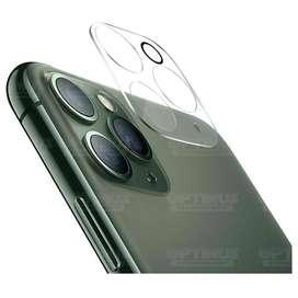 Vidrio Cristal Templado Protector de Camara para iPhone 11 Pro Max