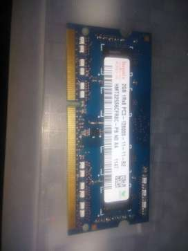 Tarjeta de memoria para Laptop 2GB