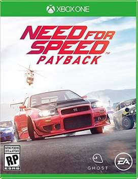 NEED FOR SPEDD PAYBACK XBOXONE