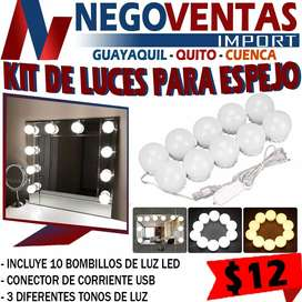 Kit de luces para espejo