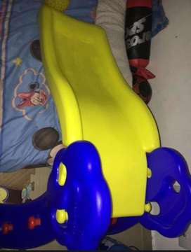 Rodadero para niños