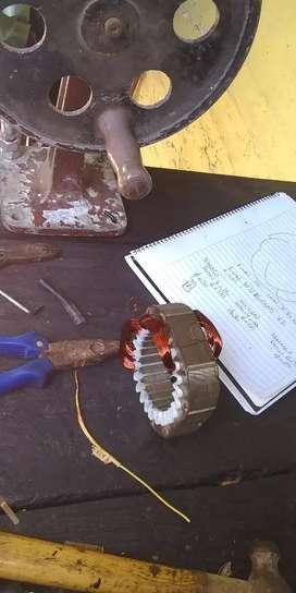 Reparación motor ventilador industrial
