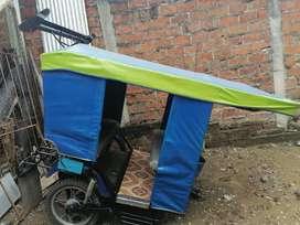 Carreton de tricimoto en pascuales