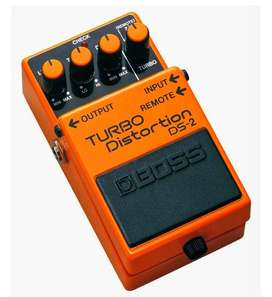 Pedal Boss DS-2 Turbo Distortion + Conector 9V