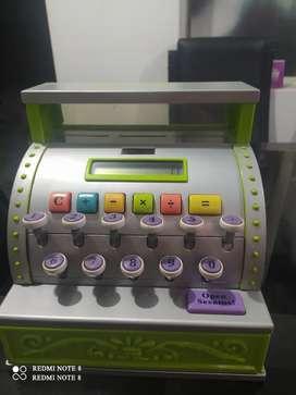 Vendo caja registradora infantil para niños niñas
