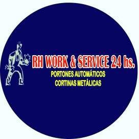 RH WORK  & SERVICE 24HS
