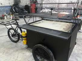 Triciclo para Arepas Chuzos Parrillas