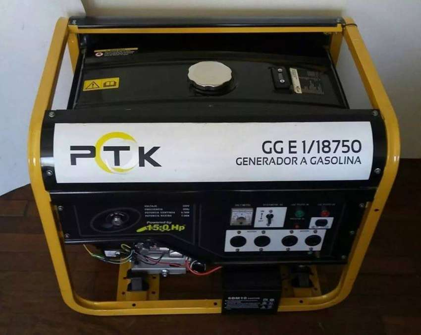 Generador de Corriente  PTK 7.5kw   15hp   NUEVO 0