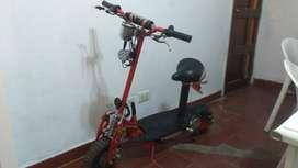 Scooter tipo moto eléctrica Hunter