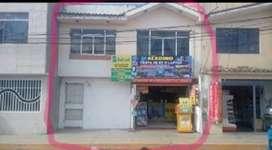 Venta de casa de 3 pisos en  la ciudad de Huánuco