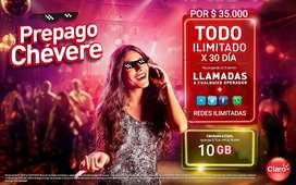 FULL INTERNET DE CLARO 10GB