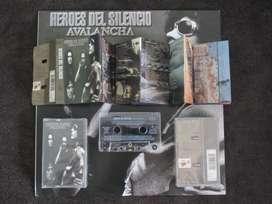 heroes del silencio cassette avalancha España 1995