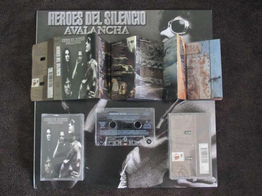 heroes del silencio cassette avalancha España 1995 0