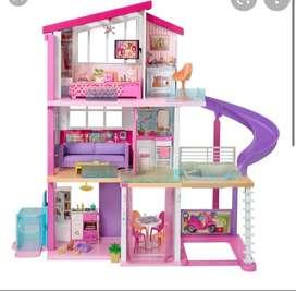 Casa y carro de Barbie