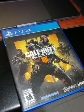 Call Of Dutty Black Ops 4 Playstation 4 Negociable