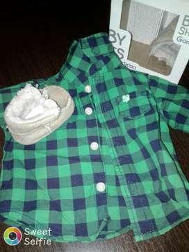 Camisa Nacido de Carters