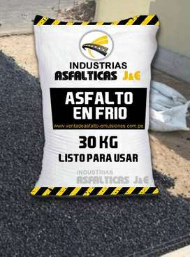 asfalto en frio / en lima