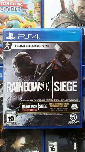 Rainbow Six Siege Ps4 Nuevo