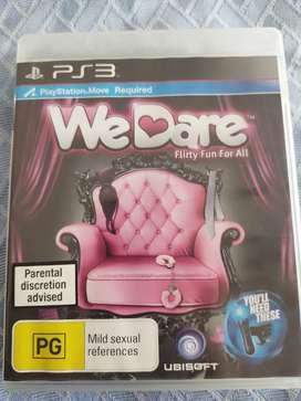 Juego PS3 We dare - Adultos