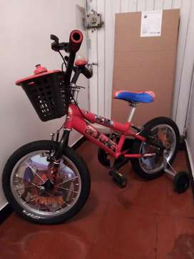 Bicicleta niño usada Rin 12
