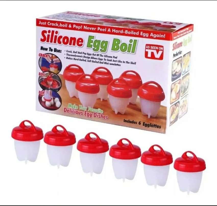 Moldes de silicona para huevos