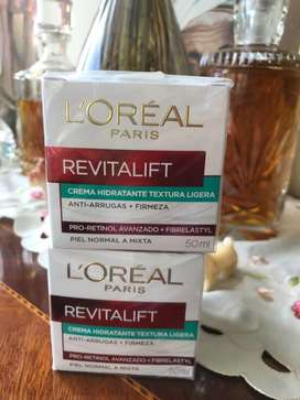 Loreal Paris crema hidratante formula mejorada
