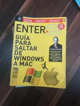 Revistas ENTER Negociable el precio haga su oferta.