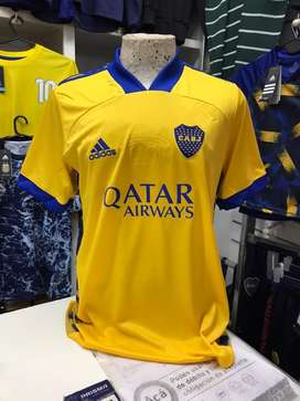 Remera boca jrs 2020 s al xxl ultimas