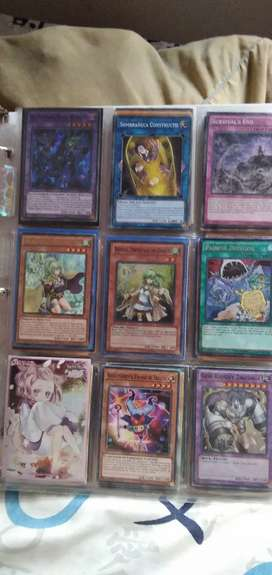 Lote de cartas originales de yugi oh