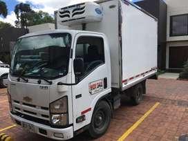 Camion NHR refrigerado
