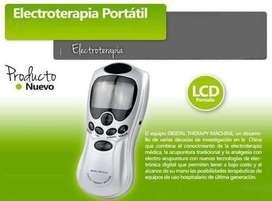 Electroestimulador Terapia Digital Tens 4 y 8 Electrodos UNISEX
