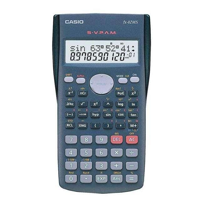 Calculadora científica CASIO Fx 82MS de 240 funciones NUEVA 0