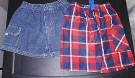 Shorts de niño