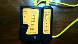 Tester para cable de red, Conexión RJ-45 / RJ-11