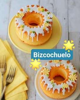 Postres y Tortas - Bizcochuelo de Vainilla (pequeño)
