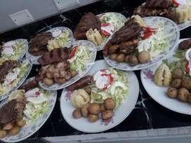Eventos Catering Parrillas Asados Cajas