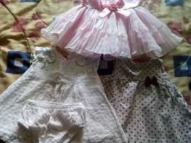 Vestidos de niña de 0 meses a dos años