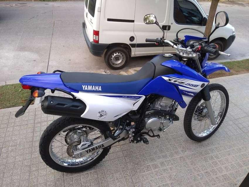 Yamaha XTZ250, yamaha xtz 250 usada. 0
