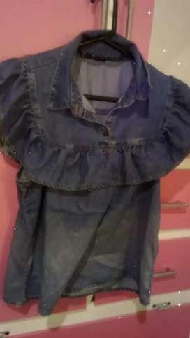 Blusa en jeans marca ELA